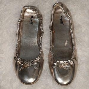 CAPELLI of New York Gold Ballet Flats